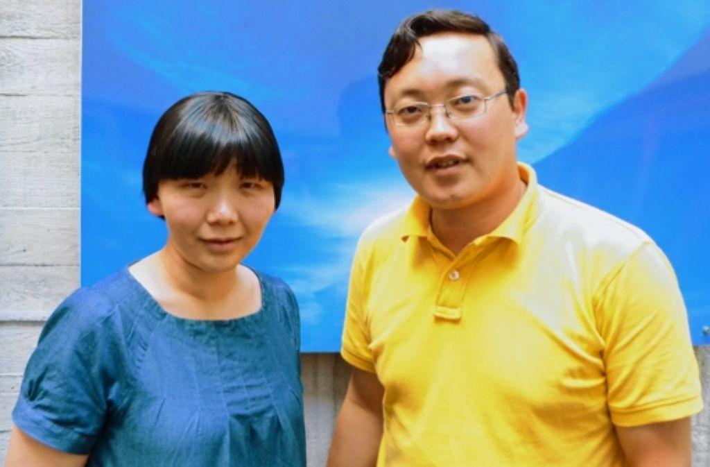 Die mongolischen Akademiker um die Vorsitzende Dolgor Guntsetseg und ihrem Foto: Isabelle Müller