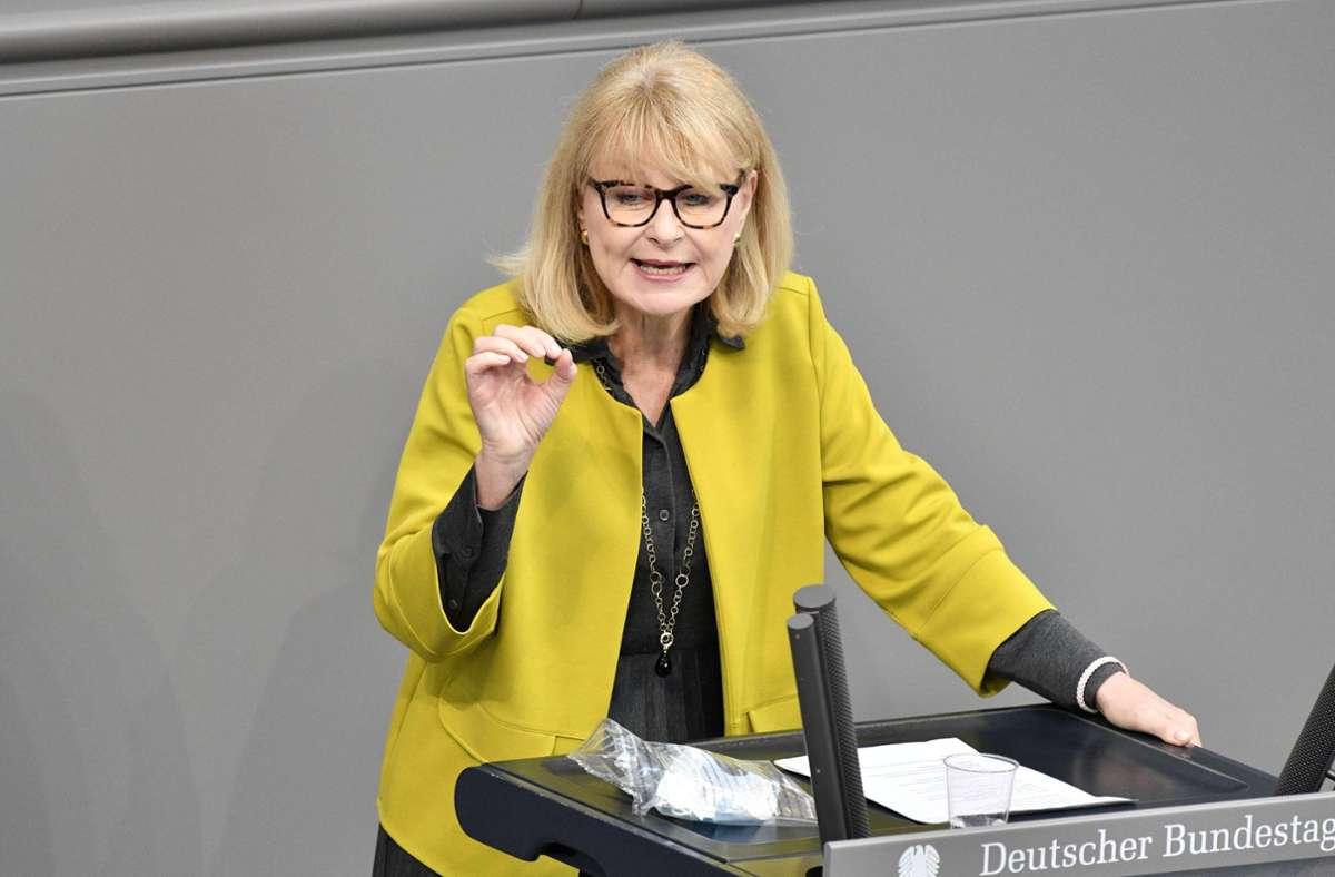 Karin Maag gibt ihr Mandat ab. Foto: imago images/Future Image