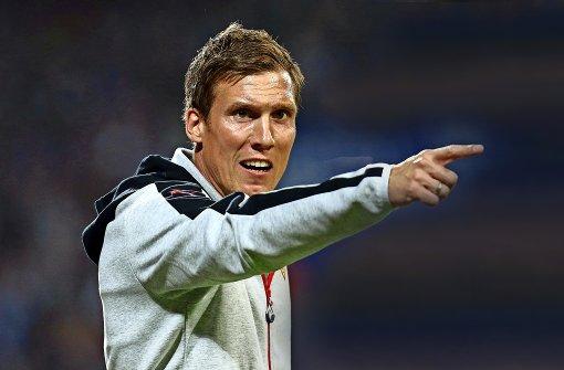 VfB-Coach Wolf: Am Montagabend muss es abgehen