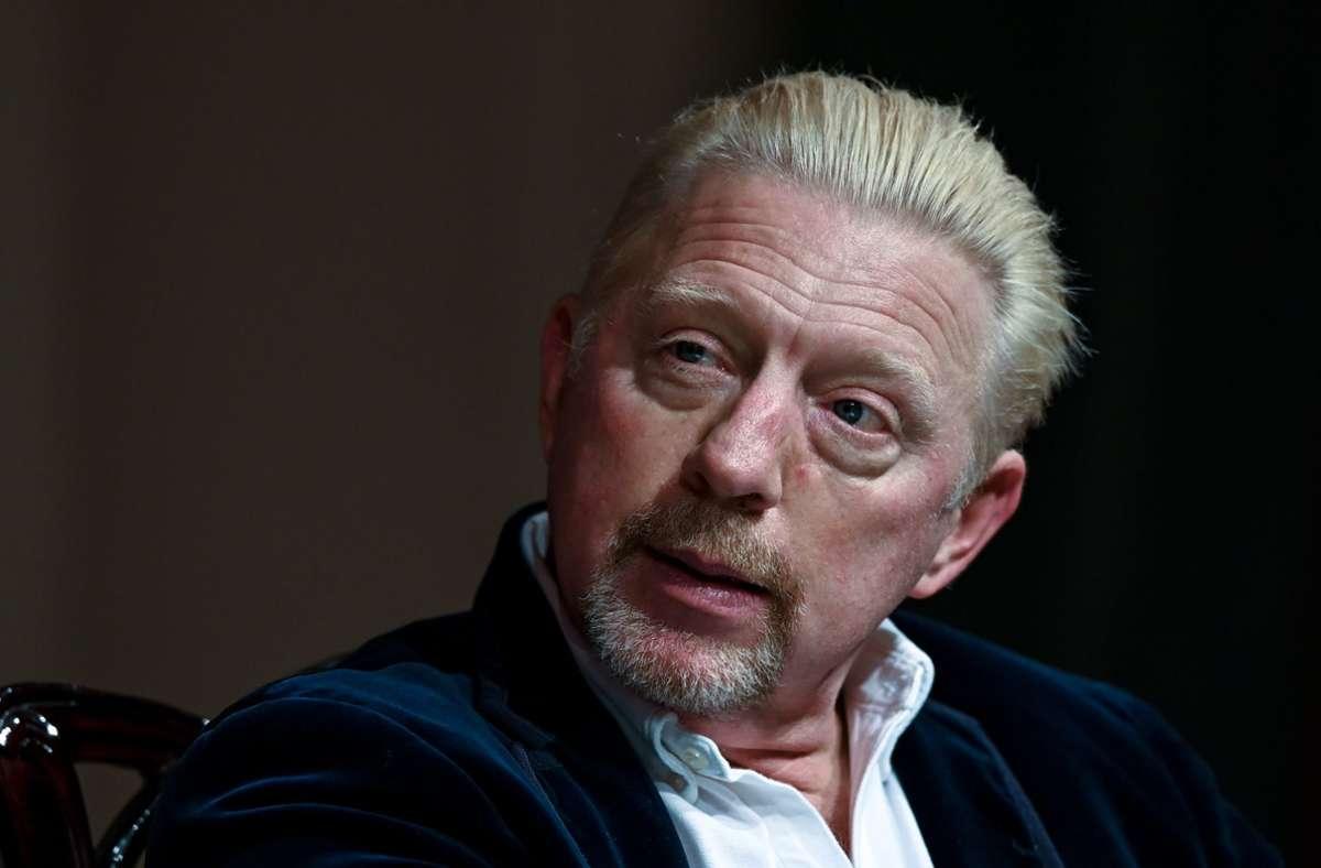 Boris Becker sprach im Podcast über sein Insolvenzverfahren. Foto: dpa/Hendrik Schmidt