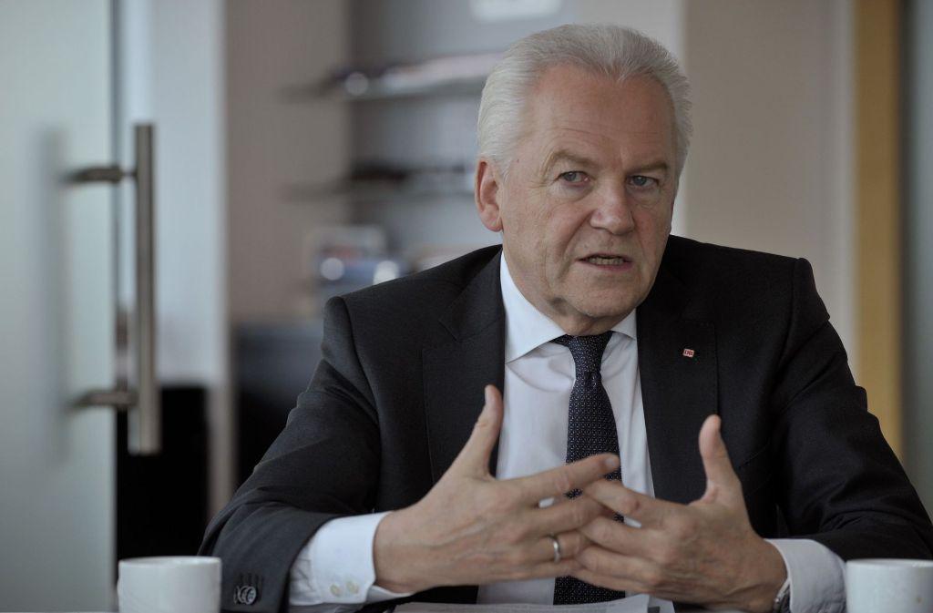 Rüdiger Grube kritisiert die Prognosen des Rechnungshofes. Foto: Lipicom/Michael H. Ebner