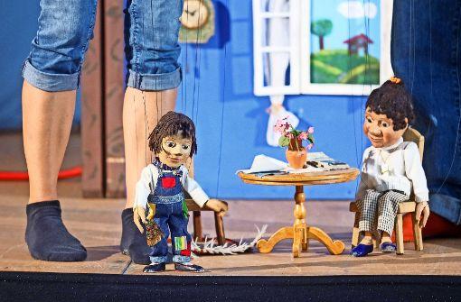 Augsburger Puppen verlassen ihre Kiste