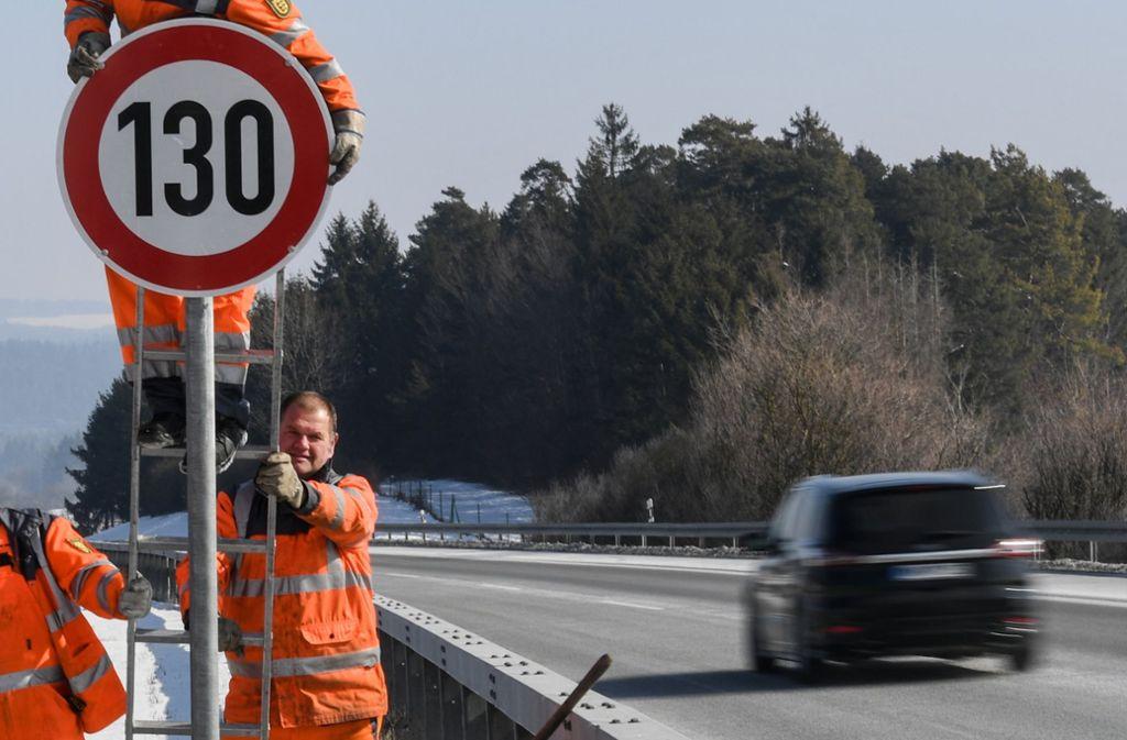 Ein Tempolimit kommt für den Bundesverkehrsminister nicht infrage. Foto: dpa