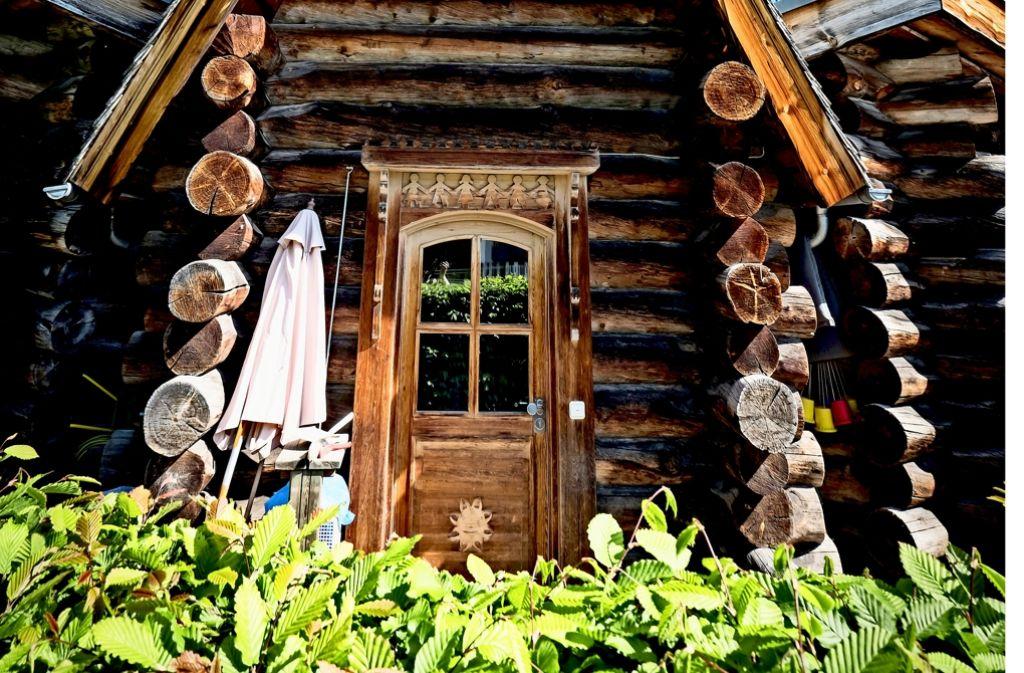 Neue Nutzung für die SI-Blockhütte: Erlebnissauna statt Kita Foto: Lichtgut/Achim Zweygarth