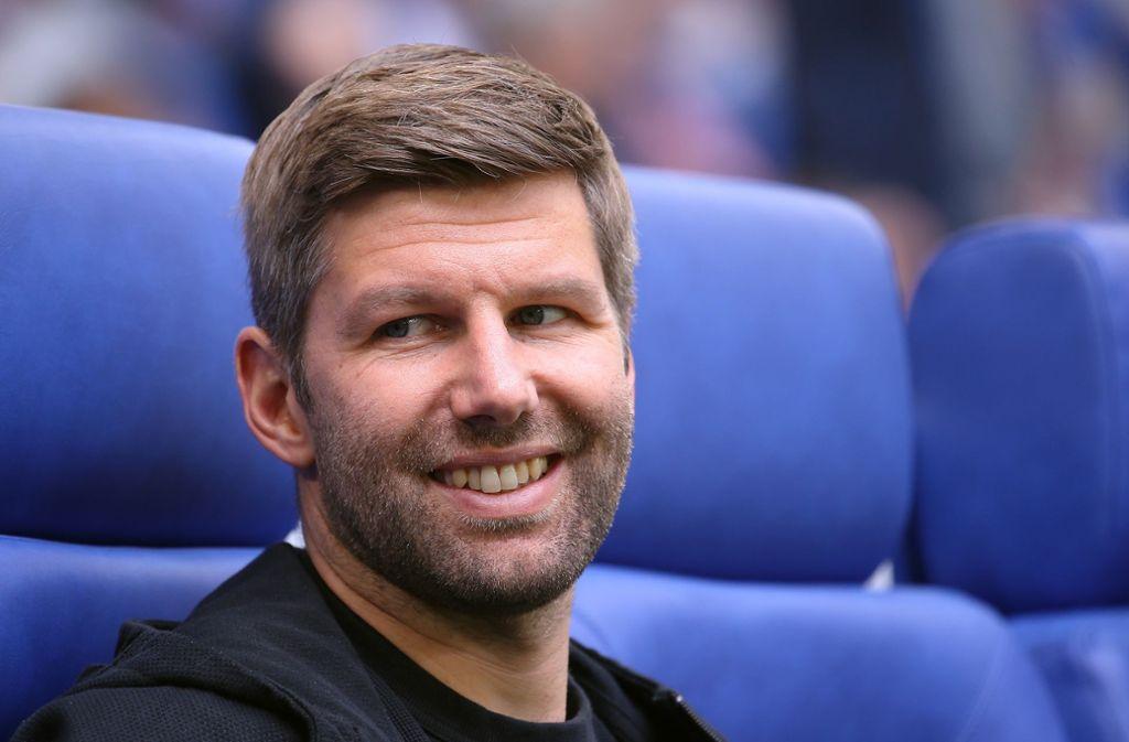 VfB-Sportvorstand Thomas Hitzlsperger äußerte sich zum Relegations-Gegner. Foto: Pressefoto Baumann
