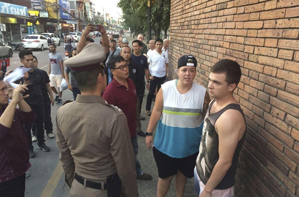 Beide Touristen haben angegeben, betrunken gewesen zu sein. Foto: AP