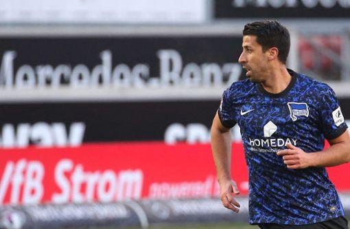 Dardai erwägt Startelf-Debüt für Sami Khedira gegen RB Leipzig