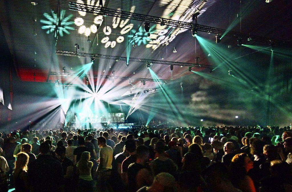 Semf: Die Leistungsschau der elektronischen Tanzmusik-Branche zum Jahresende und eines der wenigen erfolgreichen eintägigen Hallenfestivals überhaupt. Foto: Archiv: 7aktuell.de/Daniel Jueptner