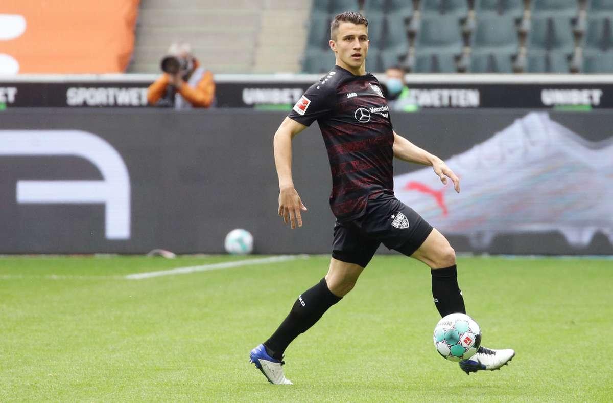 Schaut sich Marc Kempf nach einem neuen Arbeitgeber um? Der Abwehrspieler des VfB Stuttgart gilt als möglicher Abgang in diesem Sommer. Foto: Baumann