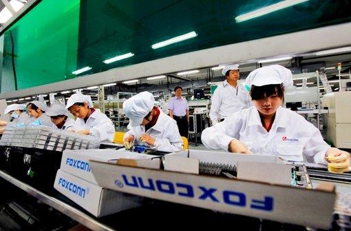 Selbstmorde,  Streiks – Foxconn-Beschäftigte sind schon lange frustriert. Foto: EPA FILE