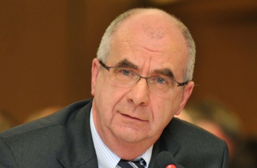 Siegfried Stumpf hat sich von Anfang an zu seiner Verantwortung für den misslungenen  Polizeieinsatz bekannt. Foto: dpa