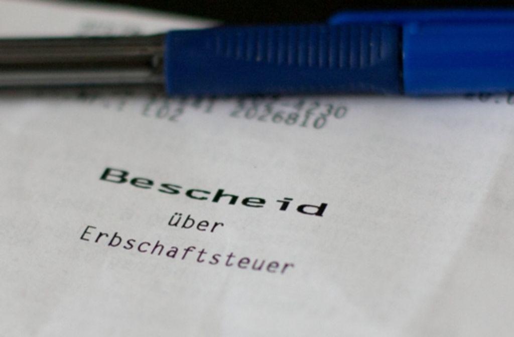 Die Neugestaltung der Erbschaftsteuer stellt die Finanzverwaltung vor große Herausforderungen. Foto: dpa