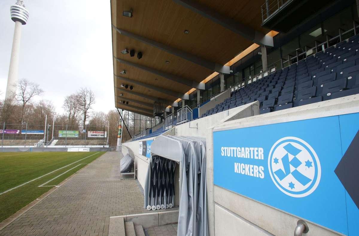 Dürfen zur neuen Saison wieder Zuschauer ins Gazi-Stadion? Foto: Pressefoto Baumann