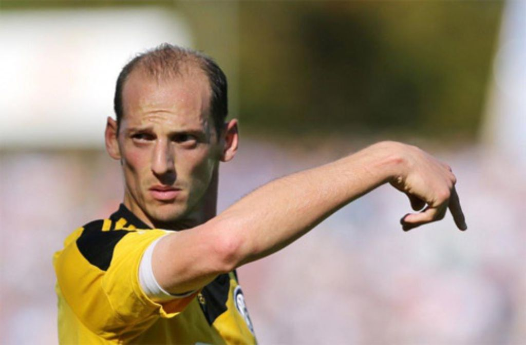 VfR-Aalen-Spieler Oliver Barth kehrt am Sonntag zu seinem alten Club Stuttgarter Kickers zurück. Foto: Pressefoto Baumann