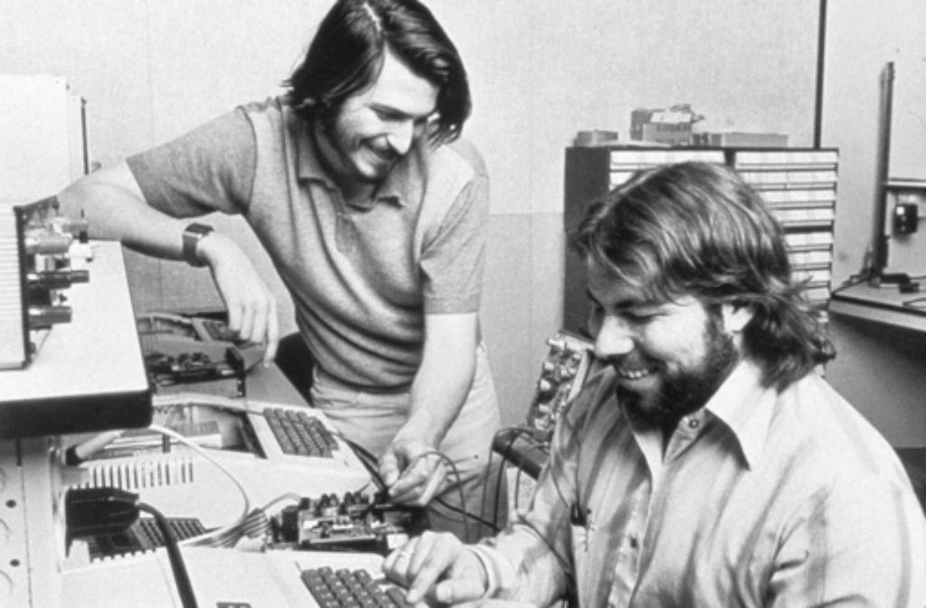 Fingen auch mal klein an: Steve Jobs Foto: Apple/dpa