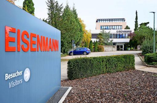Eisenmann befindet sich in der Auflösung
