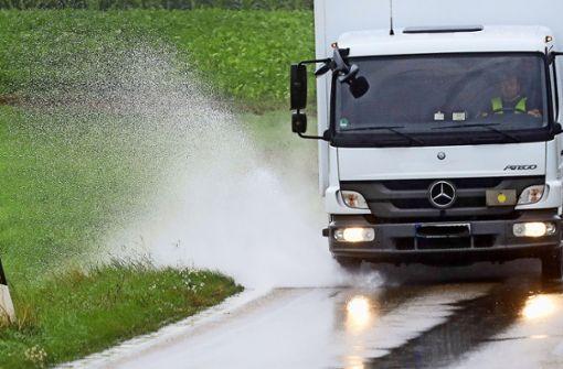 Warnsignale  verhindern kein Hochwasser