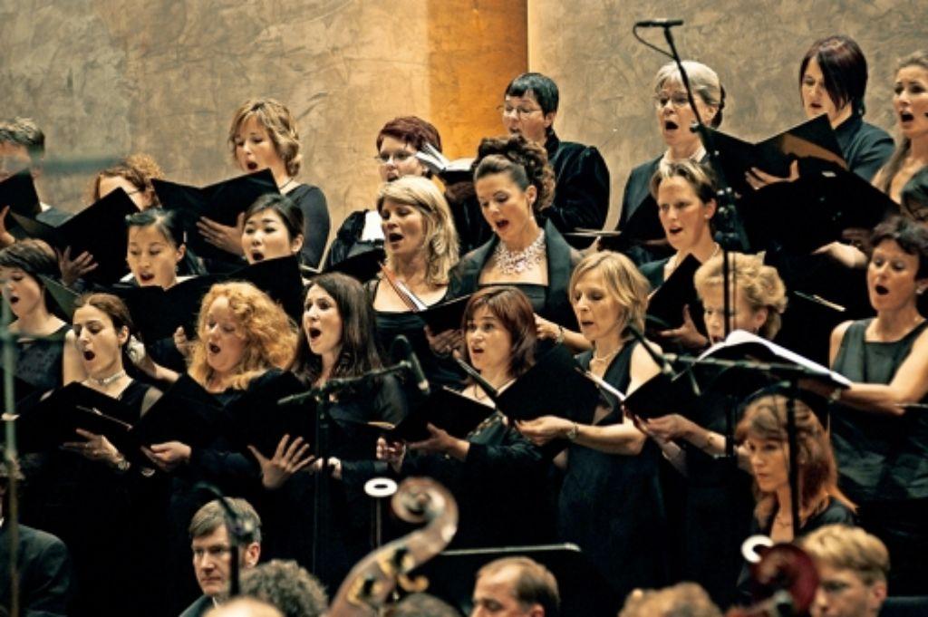 Der Chor der Schlossfestspiele Ludwigsburg Foto: SFS/Pfisterer