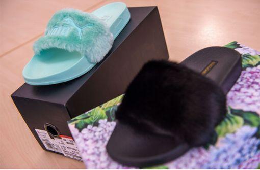 Dolce & Gabbana darf Badelatschen mit Fellriemen verkaufen