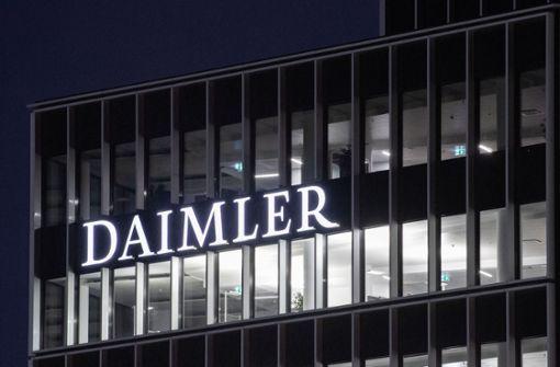 Daimler will mit E- und S-Klasse aus der Krise