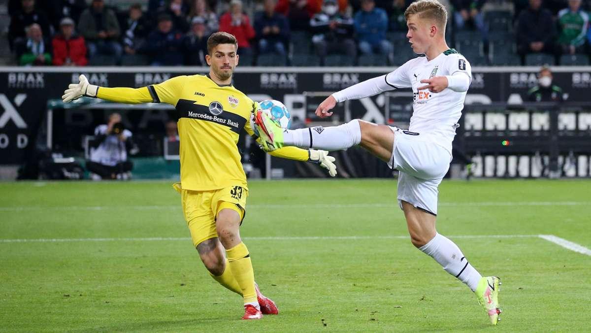 Dreimal Note Zwei gegen Borussia Mönchengladbach