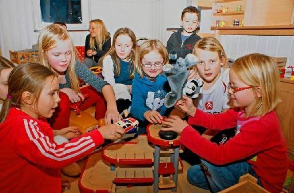 Beliebt bei Eltern und Kindern, aber zu klein: der Eltern-Kind-Treff Foto: Stefanie Käfferlein