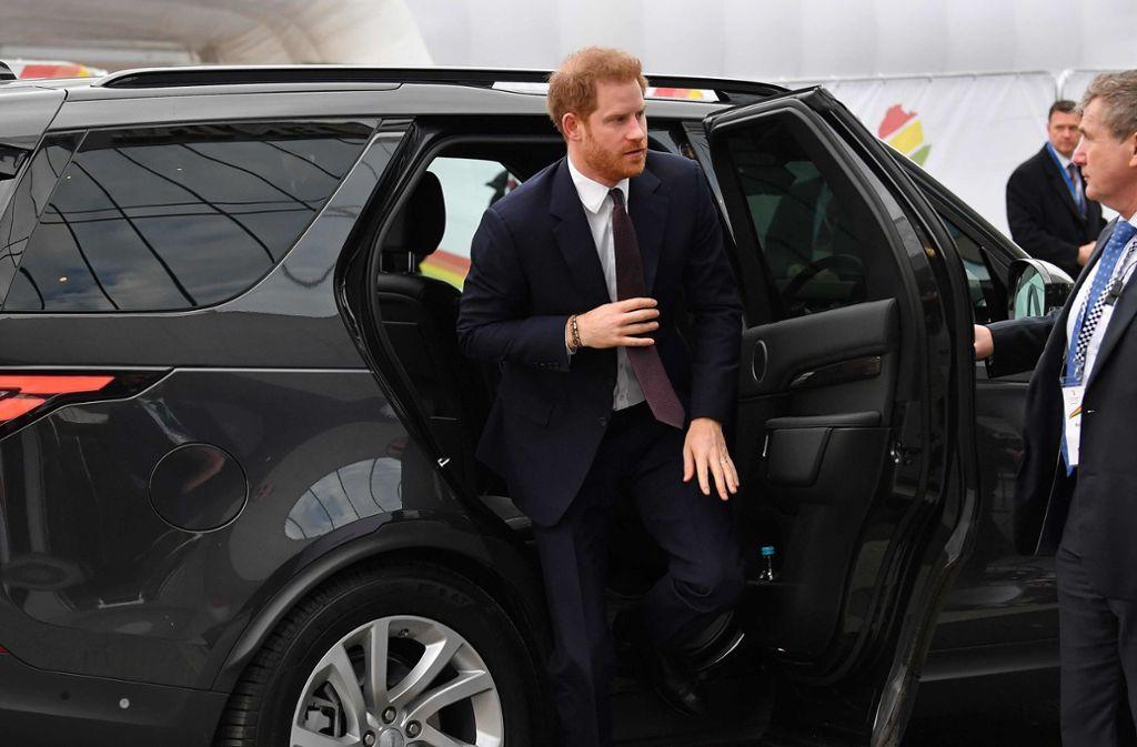 Noch absolviert Prinz Harry öffentliche Auftritte. Foto: AFP/BEN STANSALL