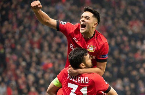 Leverkusen bezwingt Atletico und verhindert Aus