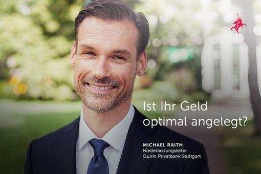 Michael Raith, Niederlassungsleiter der Quirin Privatbank Stuttgart.