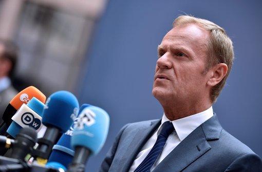 Laut Tusk kann Scheidungsprozess sofort beginnen