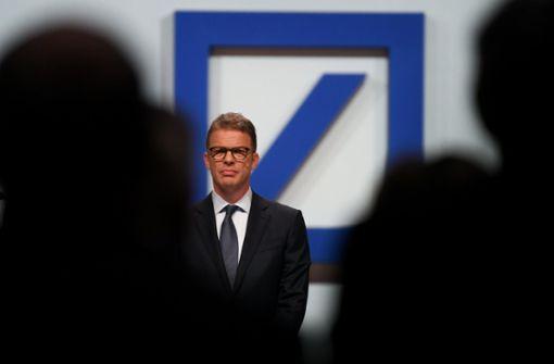 Deutsche-Bank-Chef Sewing geht aufs Ganze