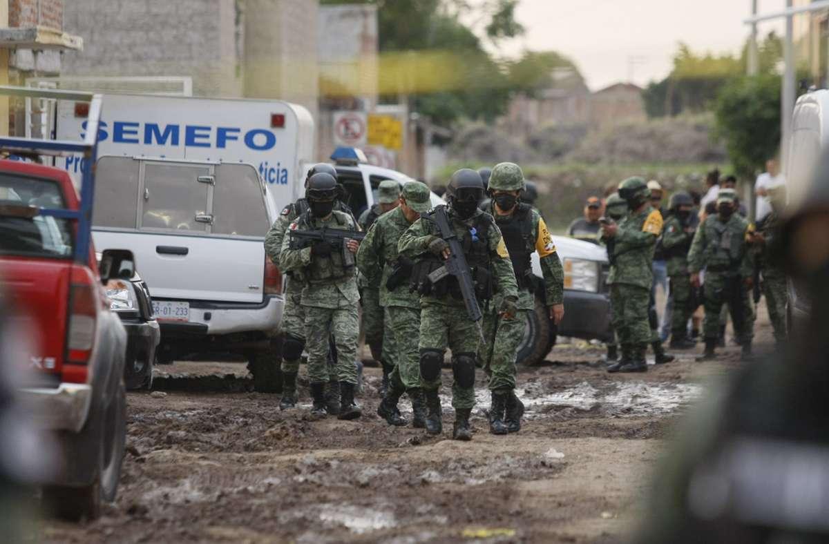 In Mexiko eskalierte die Gewalt in den vergangenen Wochen. Foto: dpa/Mario Armas
