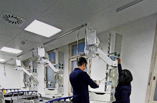 Platz für immer mehr Patienten