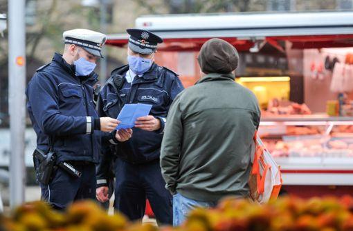 Land verspricht: Teil der Polizei soll schnell geimpft werden