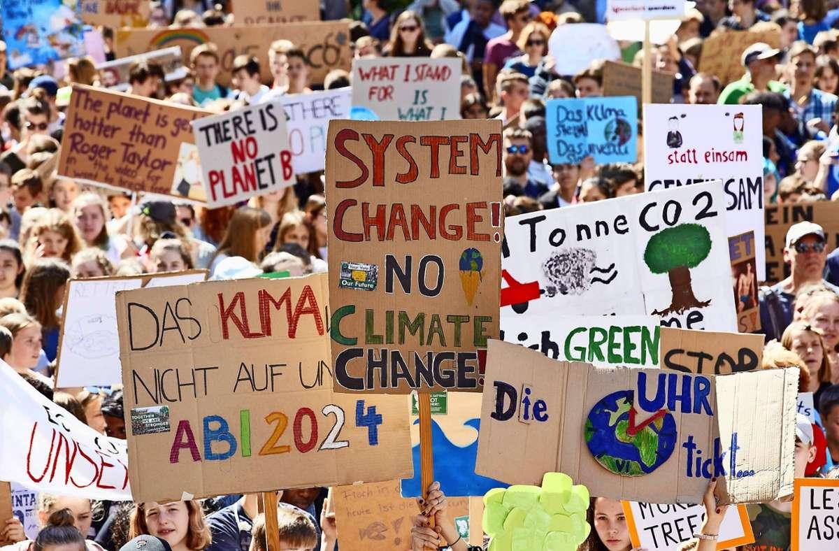 Hilft ein Klimanotstand dem Klima? Foto: dpa/Georg Wendt