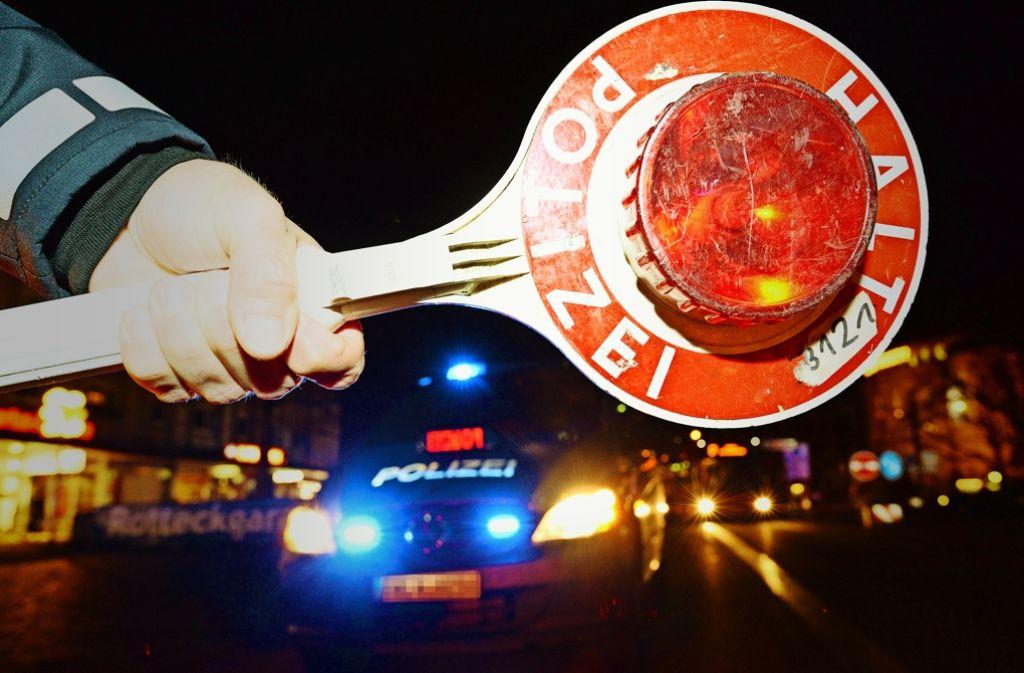 Zur Volksfestzeit verstärkt die Polizei ihre Kontrollen – in der gesamten Stadt Foto: dpa