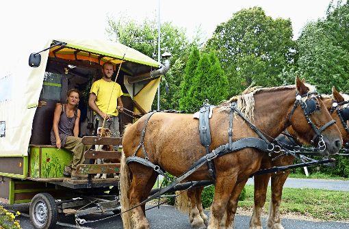 Mit dem Pferd durch Europa