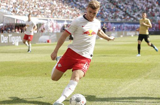 RB Leipzig besiegt Frankfurt mit 2:1
