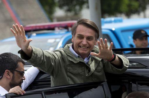 """Tropen-Trump"" Jair Bolsonaro neuer Präsident"