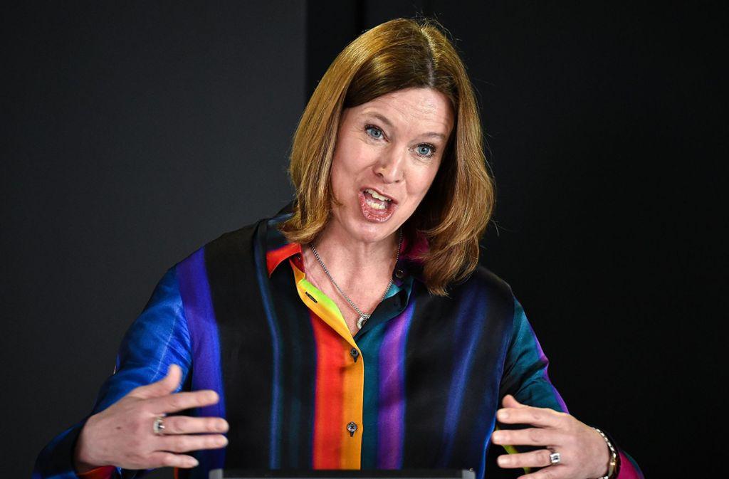 Catherine Calderwood ist nicht mehr die oberste Gesundheitsexpertin der schottischen Regierung. Foto: dpa/Jeff J Mitchell