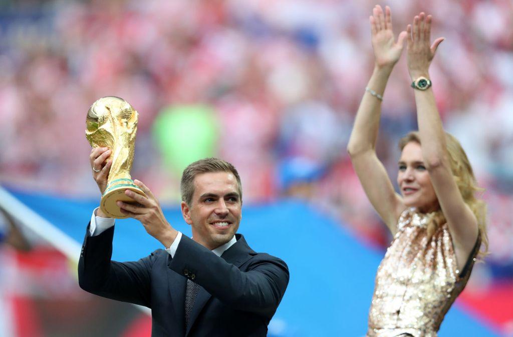 Weltmeister und Machtmensch: Philipp Lahm Foto: Getty