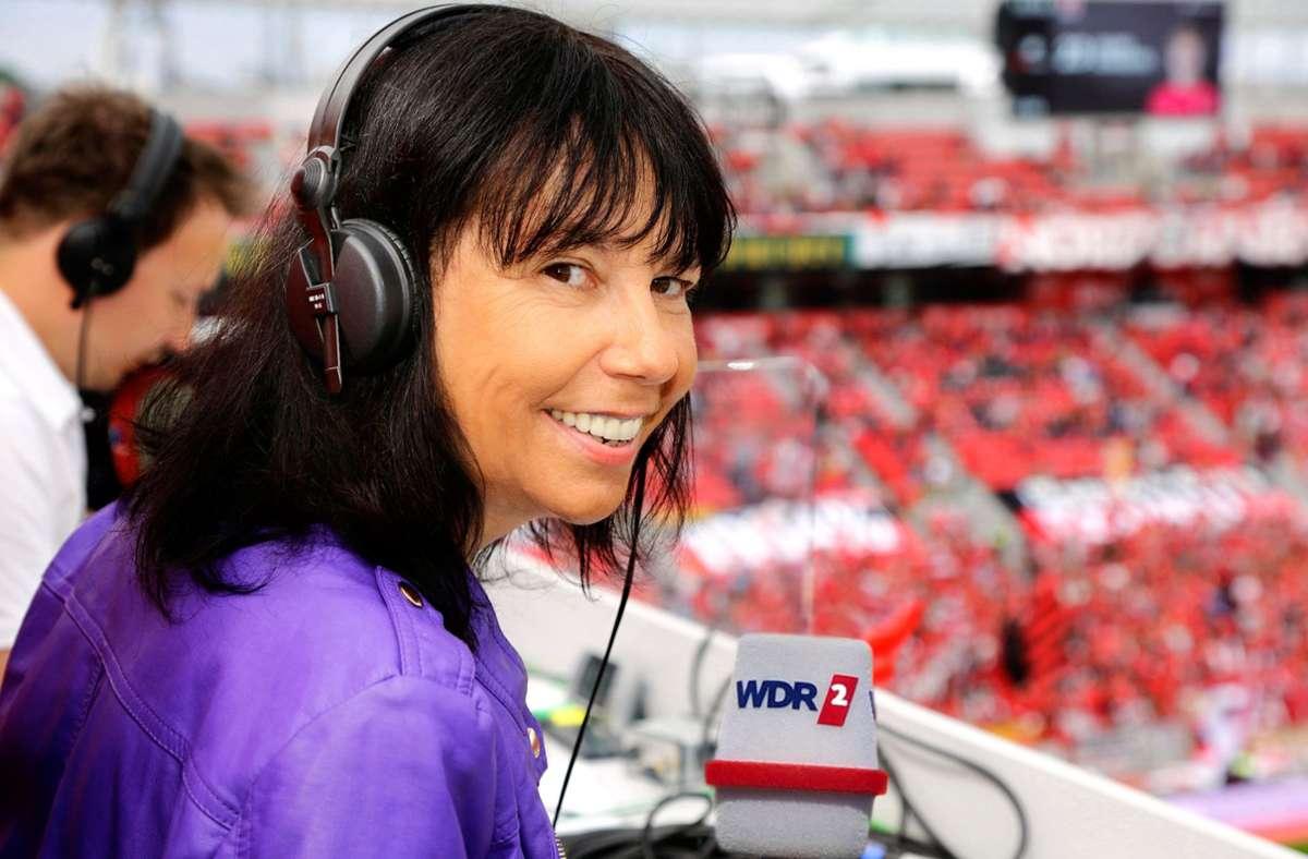 Sabine Töpperwien wird das WM-Finale 2022 kommentieren. Foto: dpa/Dirk Borm