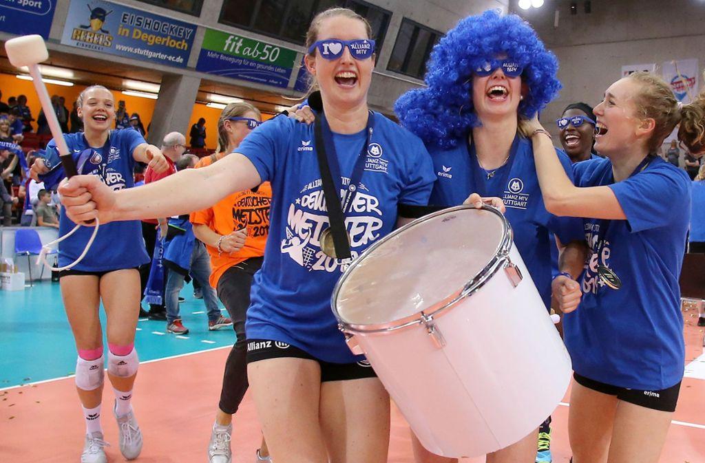 Wenn die neue Saison beginnt, wird Deborah van Daelen nicht mehr den Ton angeben bei Stuttgarts Volleyballerinnen – die Kapitänin hat ihre Karriere beendet. Foto: Baumann