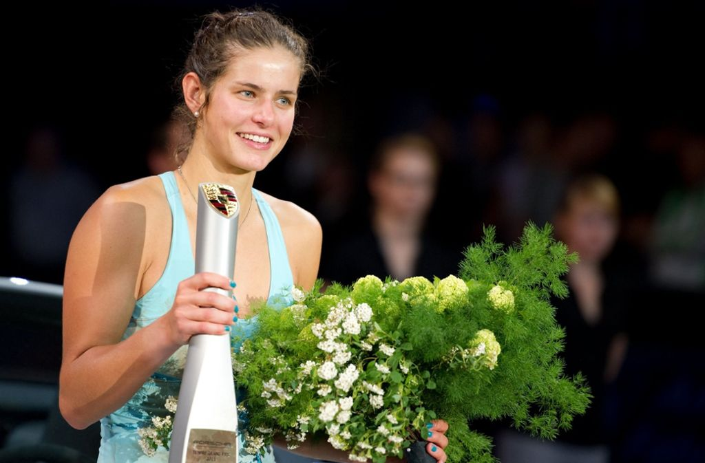 Julia Görges konnte 2011 in Stuttgart triumphieren. Foto: dpa