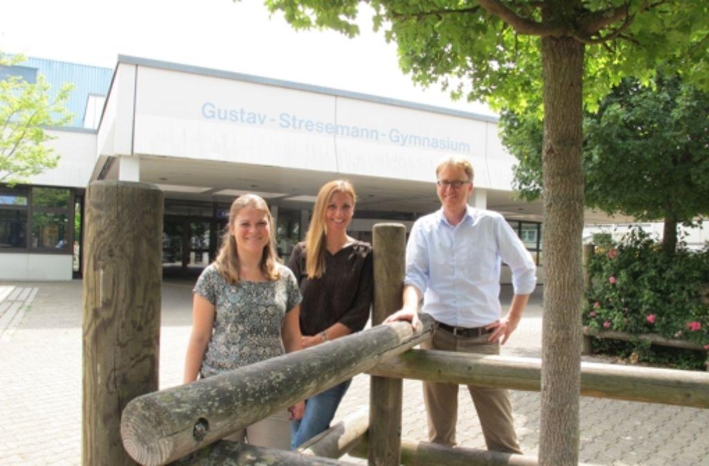 Drei Pädagogen mit klaren Vorstellungen  (von links): Katharina Frey, Patricia Steiner und Marcus Vornhusen. Foto: Gerhard Pfisterer