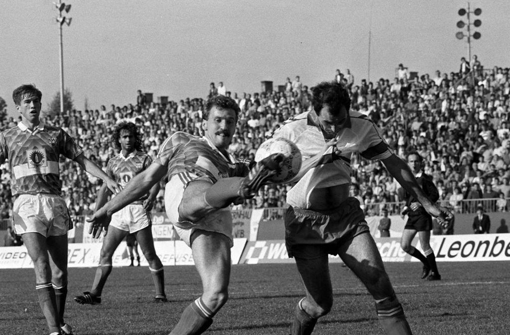 Fritz Walter schoss 102 Tore für den VfB Stuttgart. Foto: Baumann