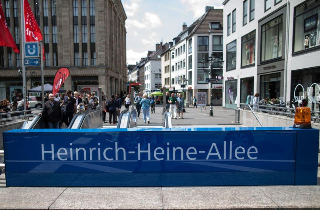 Die Männer wollten einen Anschlag in Düsseldorf verüben. Foto: dpa
