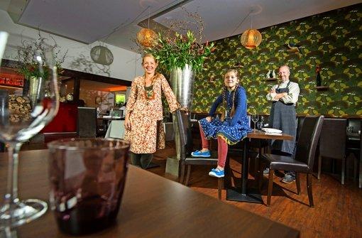 Bei Sandra, Emma und Henning Stein sind Groß und Klein willkommen. Foto: Martin Stollberg