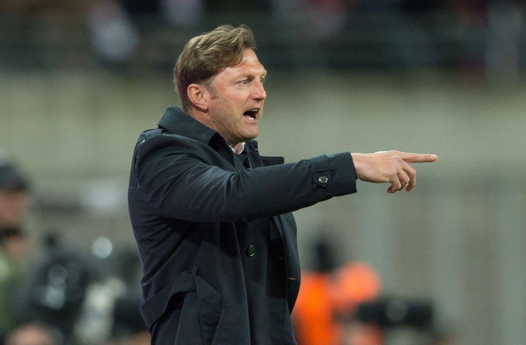 Gibt Ralph Hasenhüttl bald beim VfB die Richtung vor? Der 51-jährige Österreicher wird in Stuttgart als neuer Trainer gehandelt. Foto: dpa