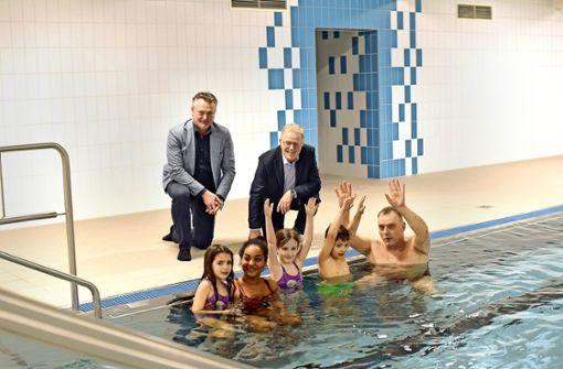 Mehr Wasserfläche, mehr Lehrer, mehr Kurse